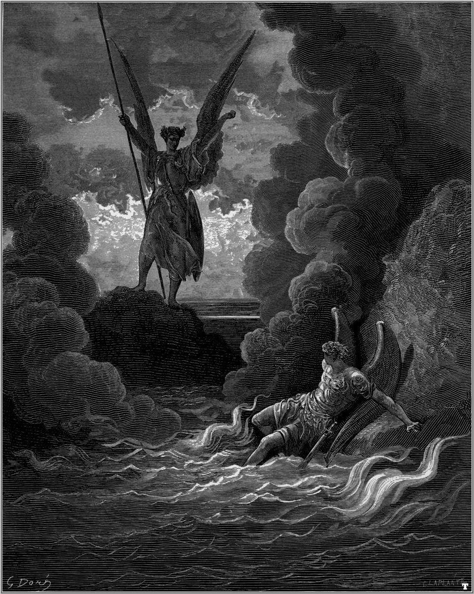 an analysis of john miltons satan in paradise lost The john milton reading room paradise lost paradise lost: paradise regain'd  and the loss thereupon of paradise wherein he was  , or rather satan in the .