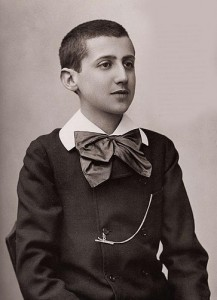 Proust as teenager