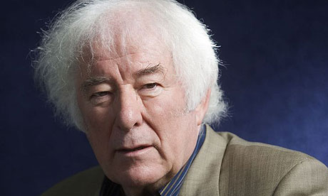 "Seamus Heaney and a toddler who ""blew the heart wide open."""