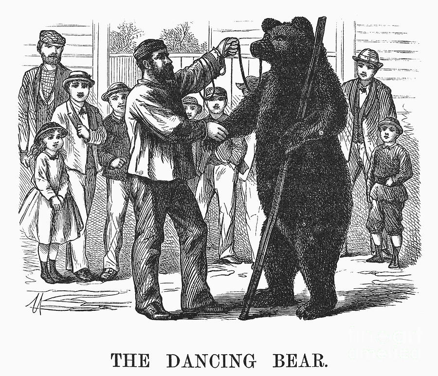 literary analysis of the dancing bear Crispin literary analysis bear may take crispin as his helper to have support when he does his singing and dancing acts 4 bear allowing crispin to.