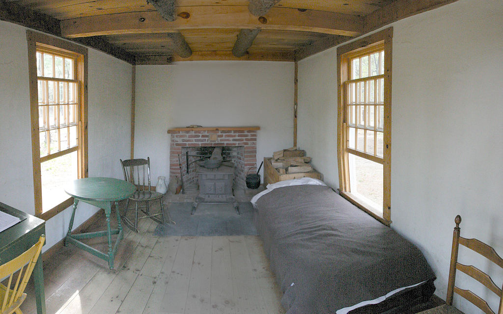Thoreau's_cabin_inside