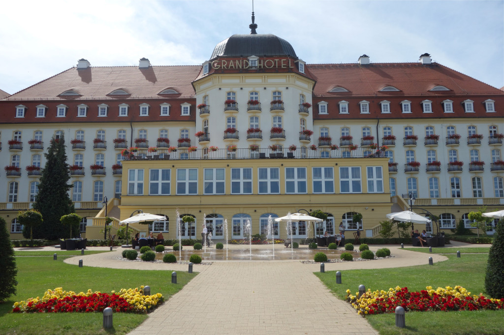 Geand Hotel/Sopot. Aug 2014