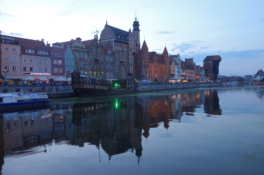 Gdansk/Motlawa. Aug, 2014