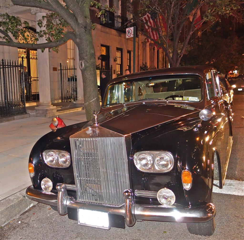 Fernando Botero's Rolls, NYC 10/16/2014