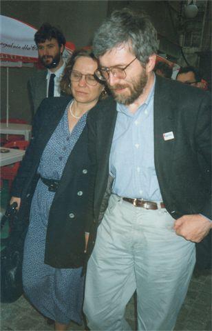 Stanisław Barańczak with wife Anna (Photo: Mariusz Kubik)