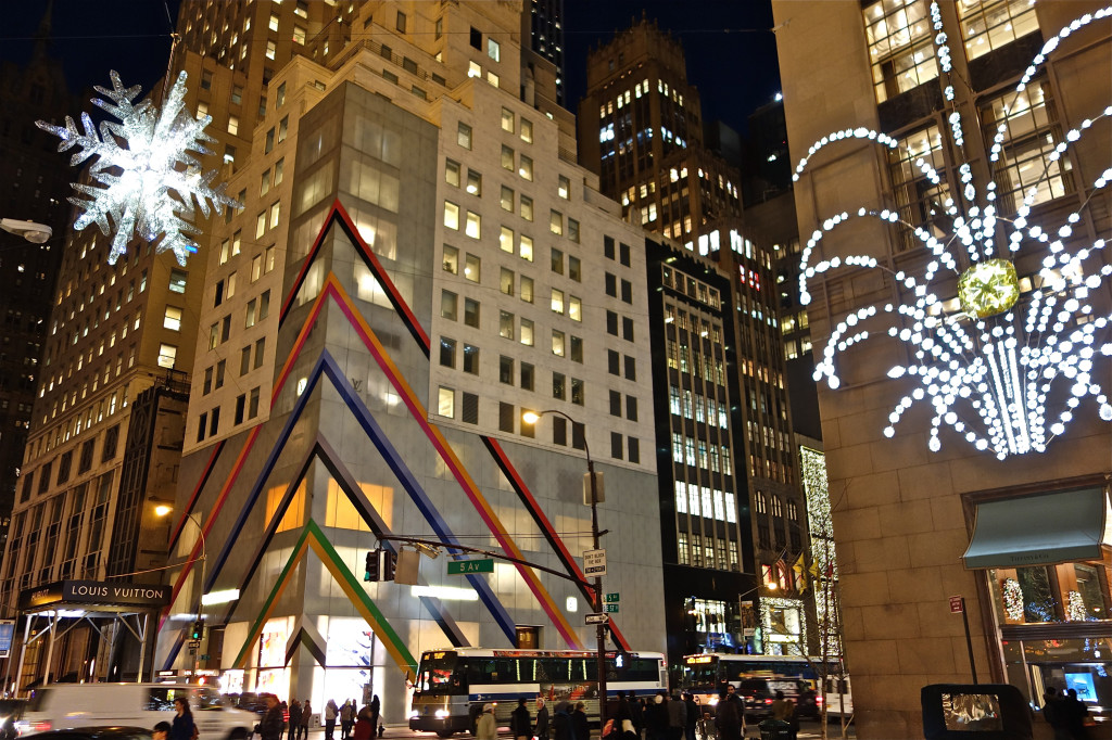 5th Ave during Christmas in NYC. 12/2014