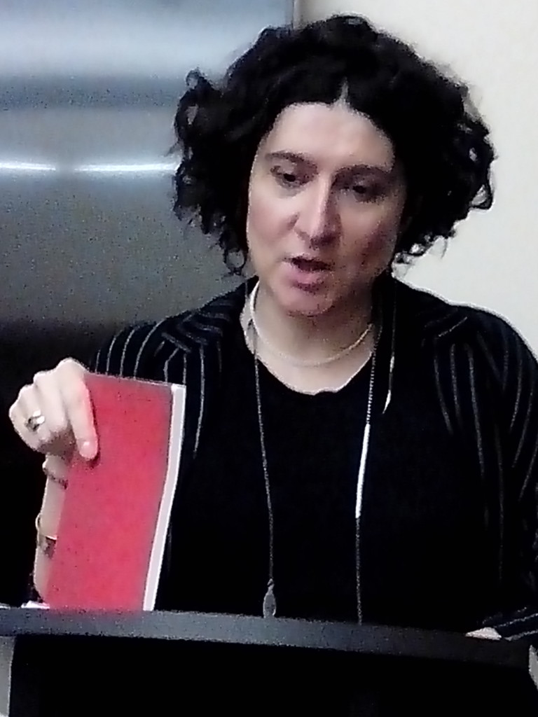 Maria Stepanova reading