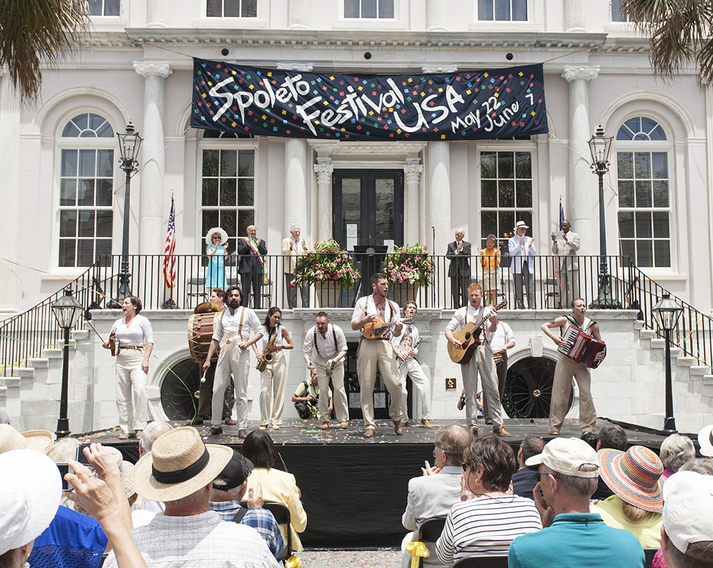 Charleston's Spoleto Festival USA opens in 2015