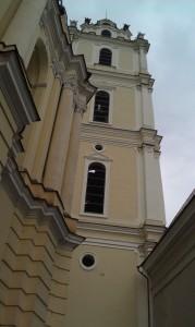 His alma mater, Vilnius University (Photo: C.L. Haven)