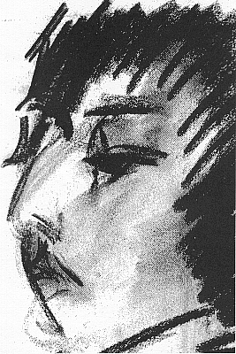 Drawing by Dennis Creffield