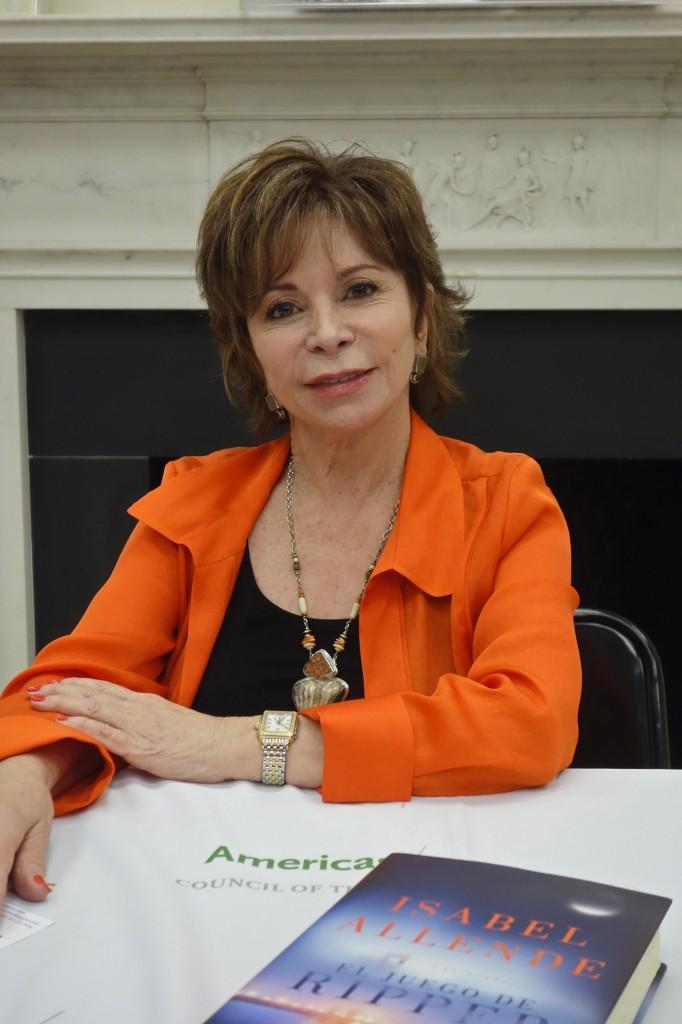 Isabel Allende, America's Society. April 15/2014