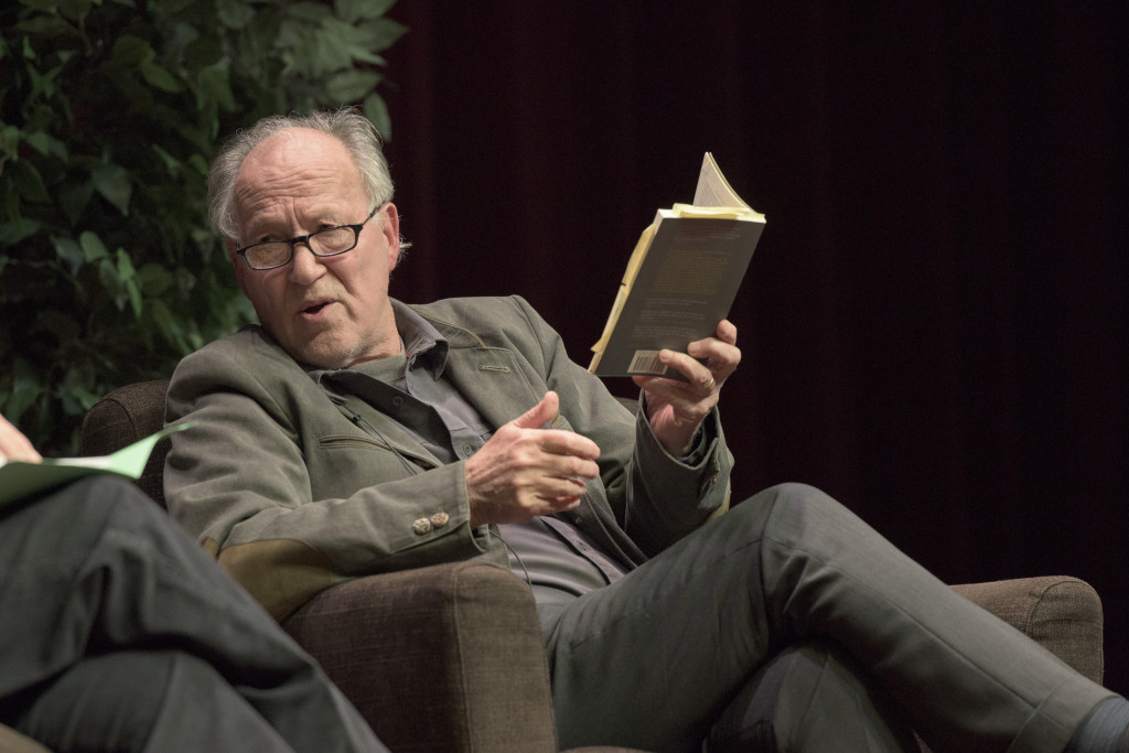 Legendary film director Werner Herzog discusses J.A. Baker's book The Peregrine at the Feb. 2 Another Look book club event.
